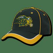 NCAA NDSU North Dakota State Bison U Structured Piped Baseball Caps Hats