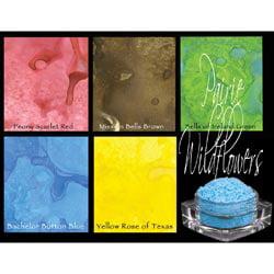 Lindy's Stamp Gang Magical Set .25oz Jars 5/Pkg-Prairie Wildflowers