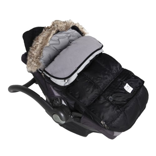 7 A.M. Infant 7 A.M. Enfant 'Le Sac -'Igloo''Water Repellent Stroller/Car Seat'Bunting - Black