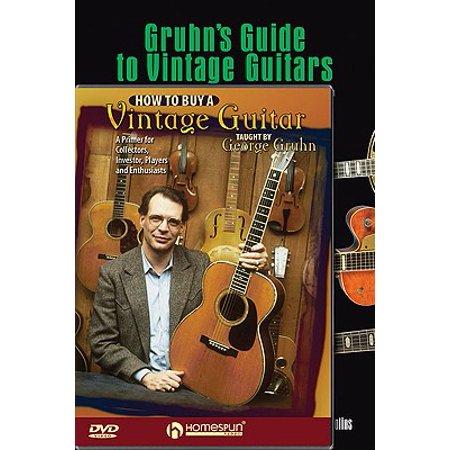 Gruhn Vintage Guitar Pack : Includes Gruhn's Guide to Vintage Guitars Book and How to Buy a Vintage Guitar (Gruhns Guide)