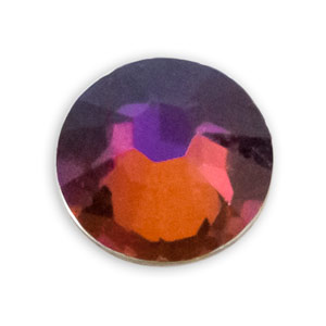 Swarovski Xilion Rose Flat Back 2028 4.7mm Crystal Volcano (Package of 10)