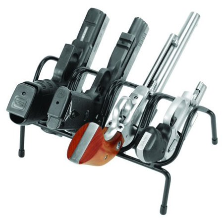 4 Gun Handgun Rack, Use at the range to hole handguns while not in use By LOCKDOWN