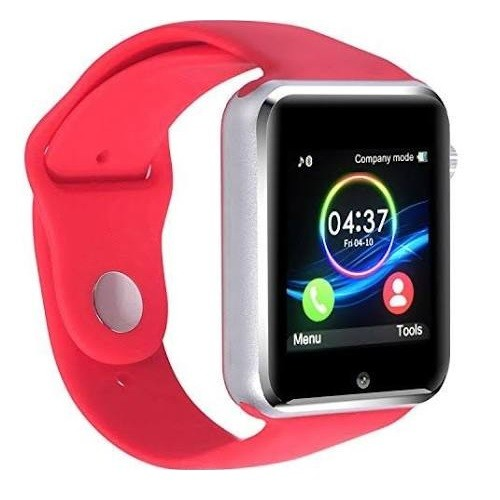 Premium Red Bluetooth Smart Wrist Watch Phone mate for Android Touch Screen Blue Tooth Smart Watch with Camera for Adults for Kids (Supports [does not include] SIM+MEMORY CARD) Amazingforless G10