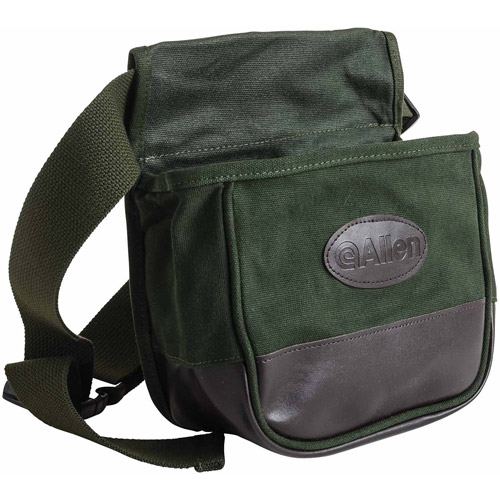 Allen Double Compartment Shooter's Bag with Belt, Forest Green