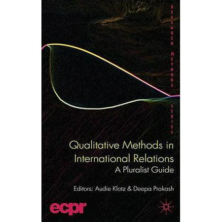 Qualitative Methods in International Relations : A Pluralist