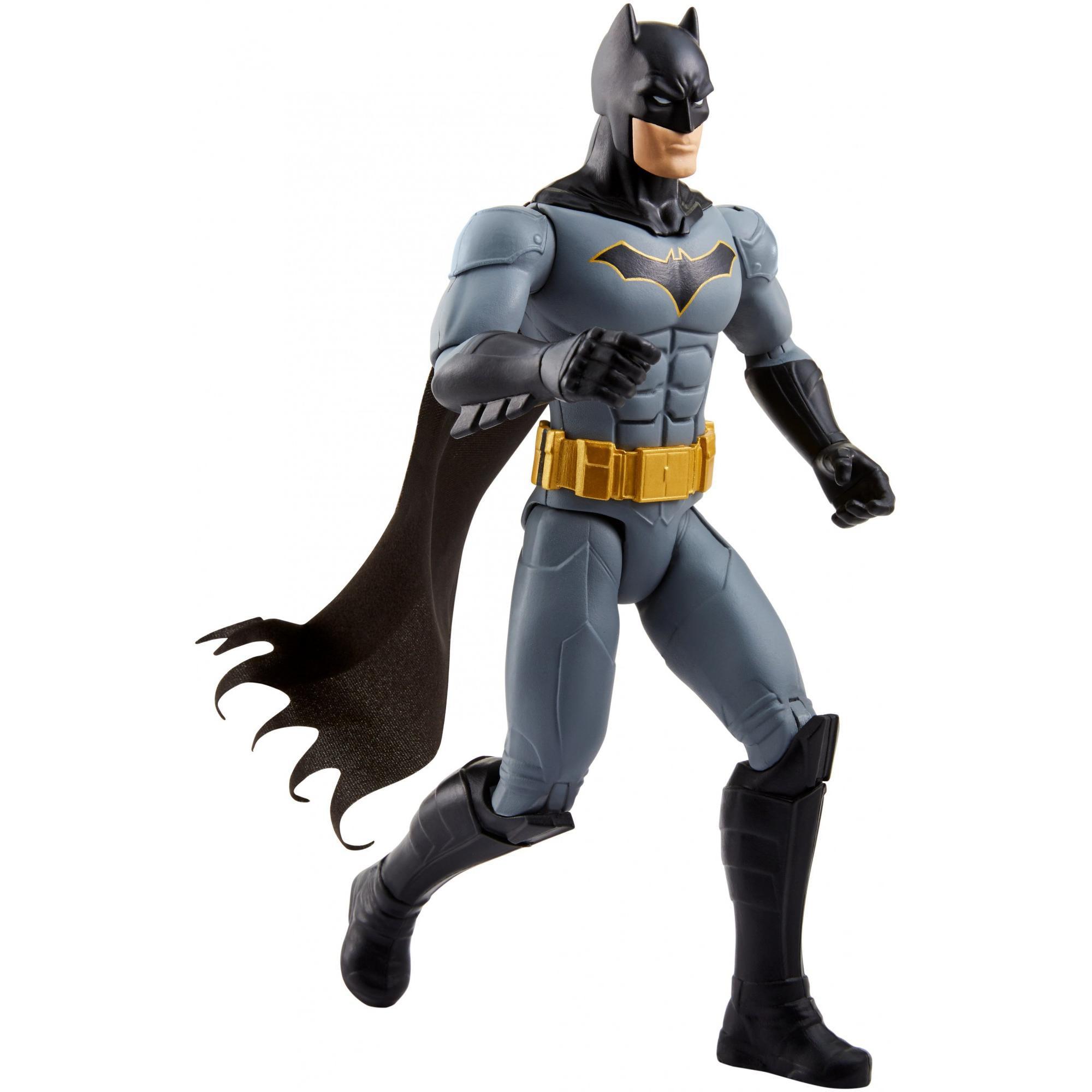 "DC Batman Missions 2019 apparence 1st Batman 11/"" Figurine AVEC MINI BD"