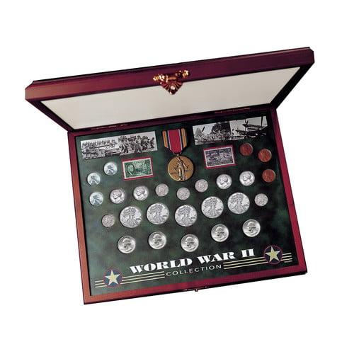 American Coin Treasures Comprehensive World War II Coin &...