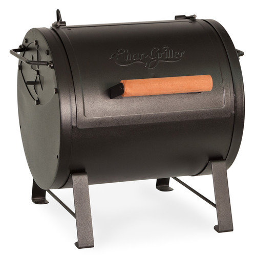 Char-Griller 18.1'' Table Top Charcoal Grill with Side Fire Box
