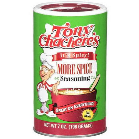 Tony Chacheres More Spice Seasoning  7 Oz