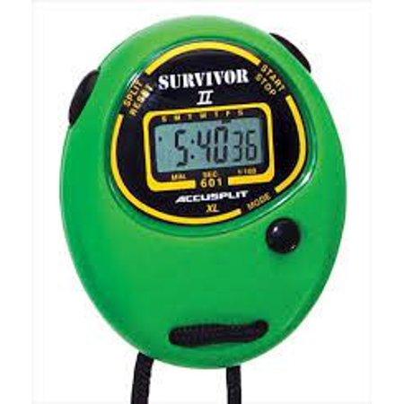 Accusplit Survivor II (S2XL) Stopwatch - Green
