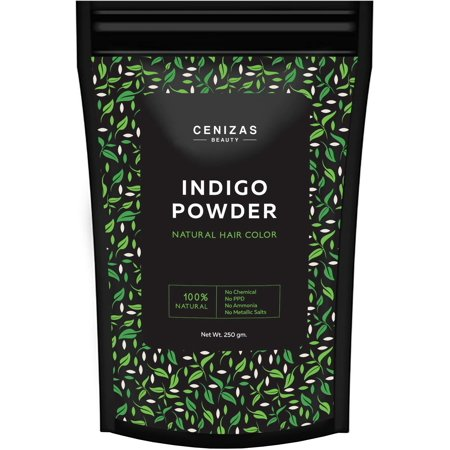 Cenizas Indigo Powder For Hair & Beard Dye - (250 Grams) - Beard Dye Walmart