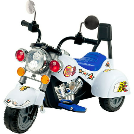 3 wheel trike chopper motorcycle ride on toy for kids by for Motorized toys for boys