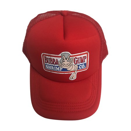 12131b3eaa Bubba Gump Shrimp Co. Red Trucker Hat Forrest Gump Cap Costume Movie  Company - image ...