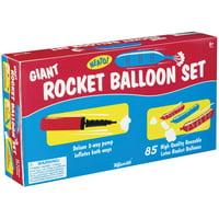 Toysmith Giant Rocket Balloon Set With Pump