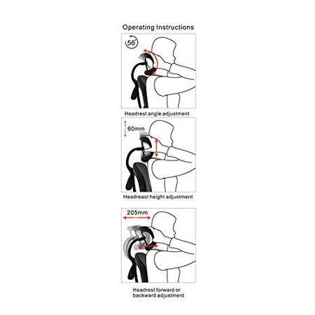 Alera ALE EQ Series Headrest, Mesh, Black - image 3 de 5
