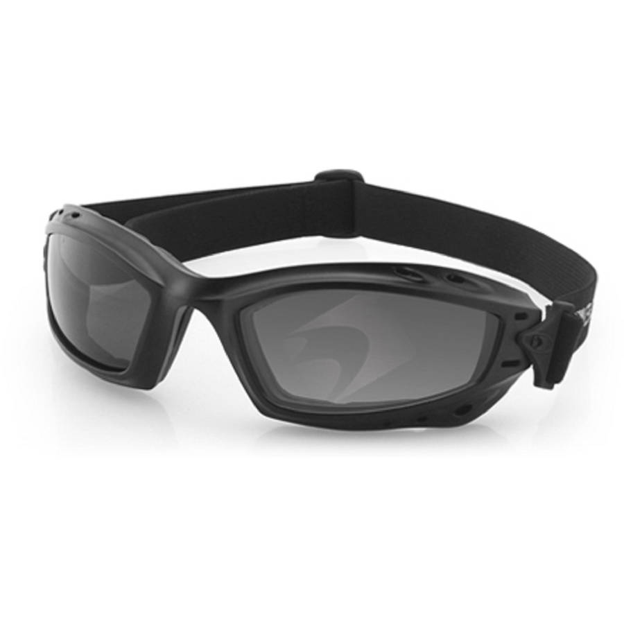 Bobster Bala Goggles Anti-Fog, Matte Black with Yellow Lens by Balboa Manufacturing