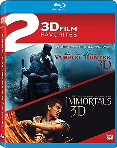 Abraham Lincoln: Vampire Hunter   Immortals Double (Blu-ray) by