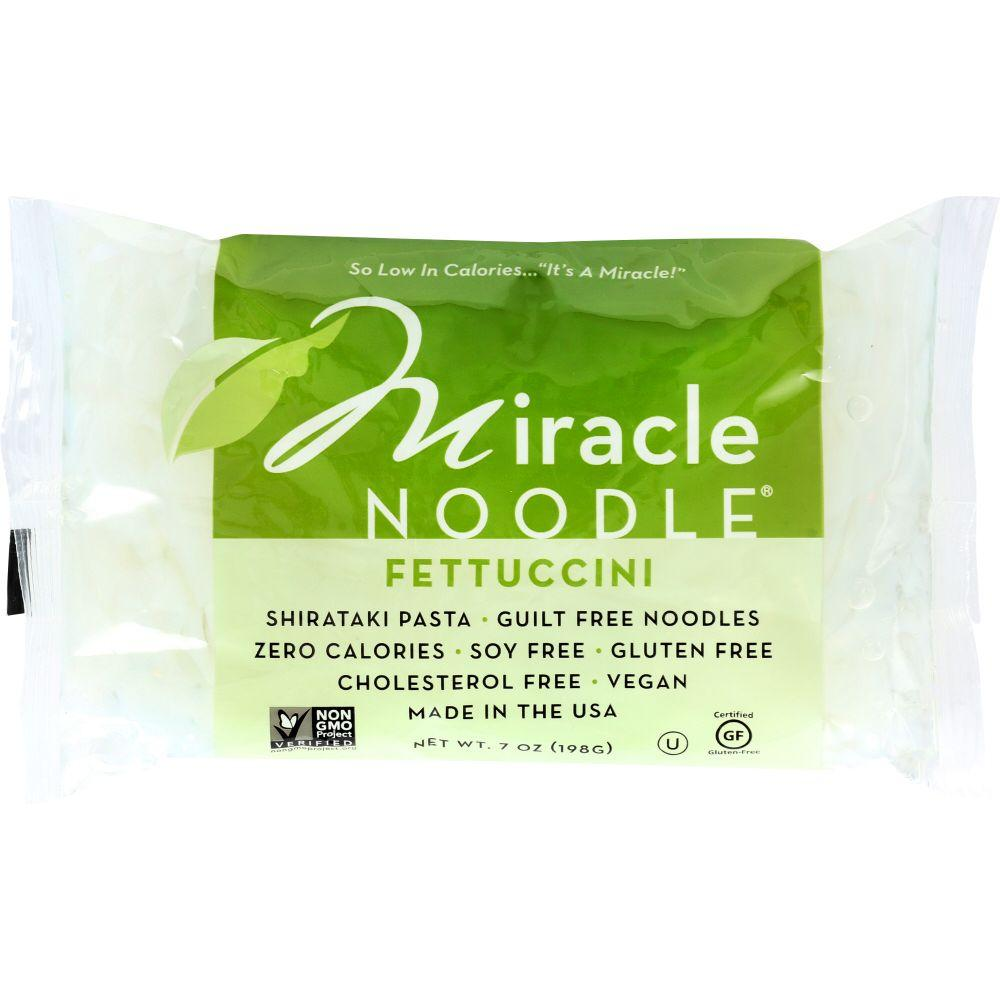 Miracle Noodle Shirataki Pasta, Fettuccini, 7 Oz (Pack Of 6)