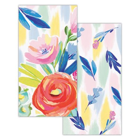 Guest Series Towel (Creative Converting Brushed Florals Guest Towel, 3 Ply, 16)