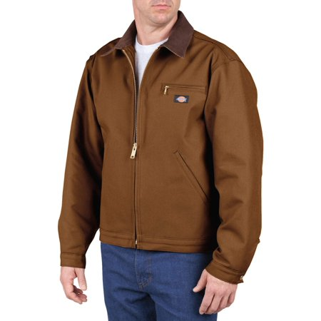 Dickies Brown Jacket - Dickies Men's Rigid Duck Blanket Lined Jacket
