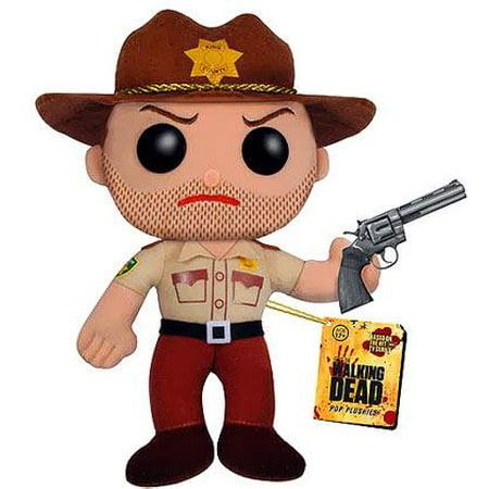Funko Walking Dead Funko 5 Inch Plushies Rick Grimes 5