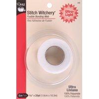 "Dritz Stitch Witchery Fusible Bonding Web Ultra-Light-.625""X20yd"