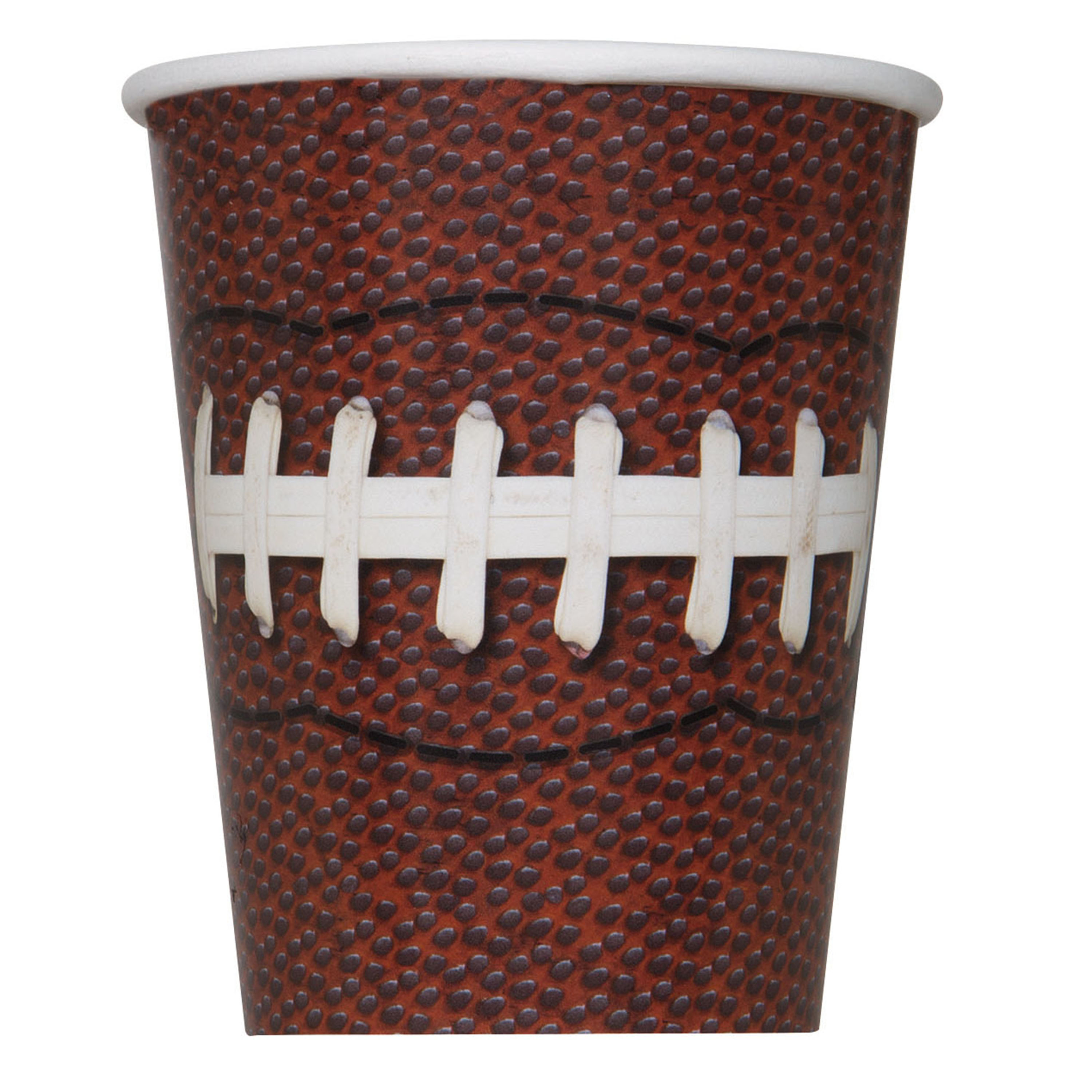 9oz Paper Football Cups, 8ct