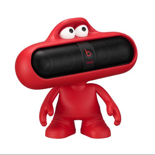 beats bluetooth speakers. beats by dr. dre pill 2.0 black/red bundle black bluetooth speaker w/ speakers