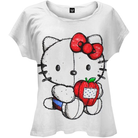 Hello Kitty - Doll Juniors T-Shirt - Is Hello Kitty A Girl
