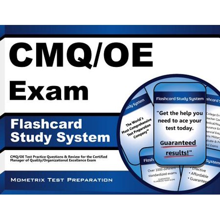 Cmq/OE Exam Flashcard Study System : Cmq/OE Test Practice Questions and Review for the Certified Manager of Quality/Organizational Excellence