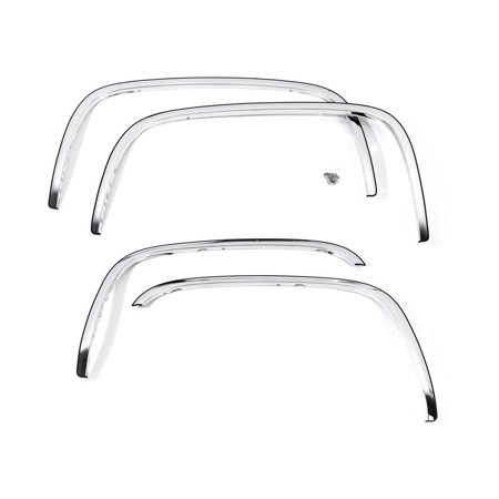 Motorcycle Front Fender Trim - Putco 97296 Fender Trim, Polished Full design