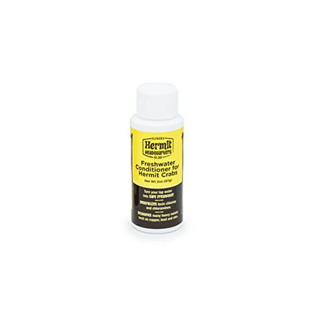 Reptile Treatment ((2 Pack) Fluker's Freshwater Conditioner for Hermit Crabs, 2 Oz )