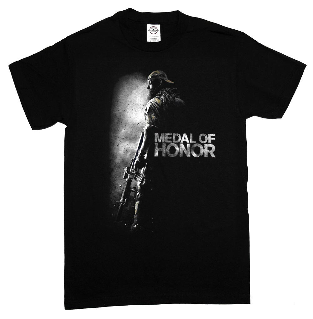 Medal Of Honor Cover Logo Video Game T-Shirt Tee