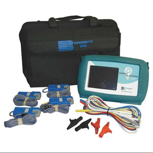 DRANETZ DBEP550-4 Power Analyzer/Datalogger,1 to 100A