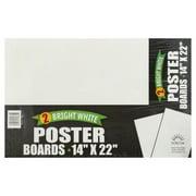 Norcom, Norcom Bright White Poster Boards, 2 boards