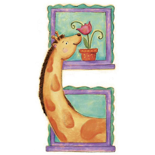 4 Walls Giraffe Panel Wall Mural
