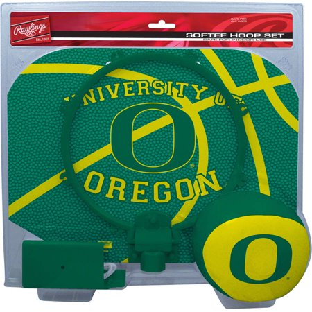 Rawlings NCAA Slam Dunk Softee Hoop Set University Of Oregon Ducks (Oregon Ducks Jersey Basketball)