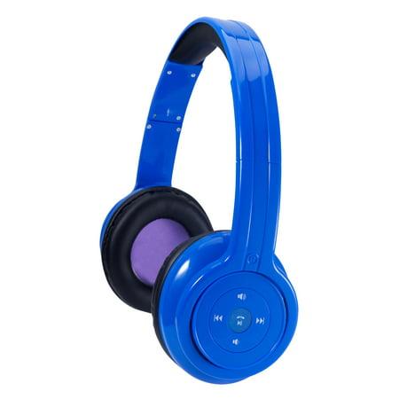 craig bluetooth stereo headphone blue. Black Bedroom Furniture Sets. Home Design Ideas