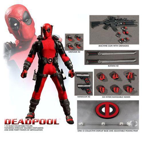 Mezco Toyz One:12 Collective Deadpool Action Figure