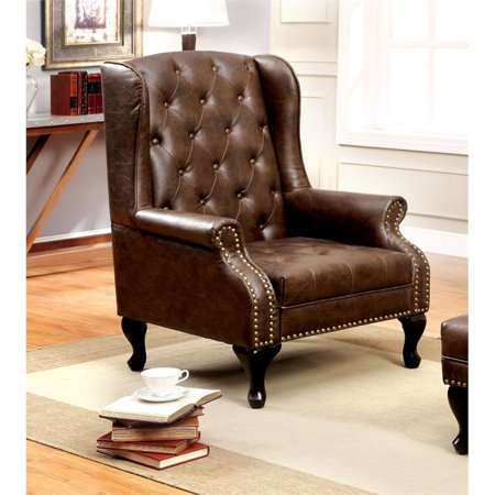 Furniture of America Ardell Vaugh Accent Chair   Item# 12337