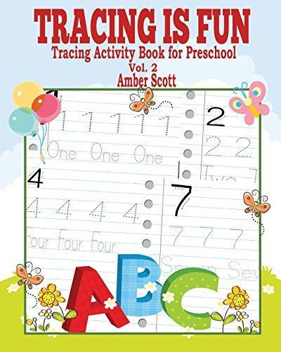Tracing Is Fun (Tracing Activity Book for Preschool) Vol. 2 by
