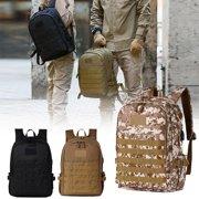 Men Women Military Tactical Backpack USB Molle Waterproof Trekking Rucksack Laptop Bag