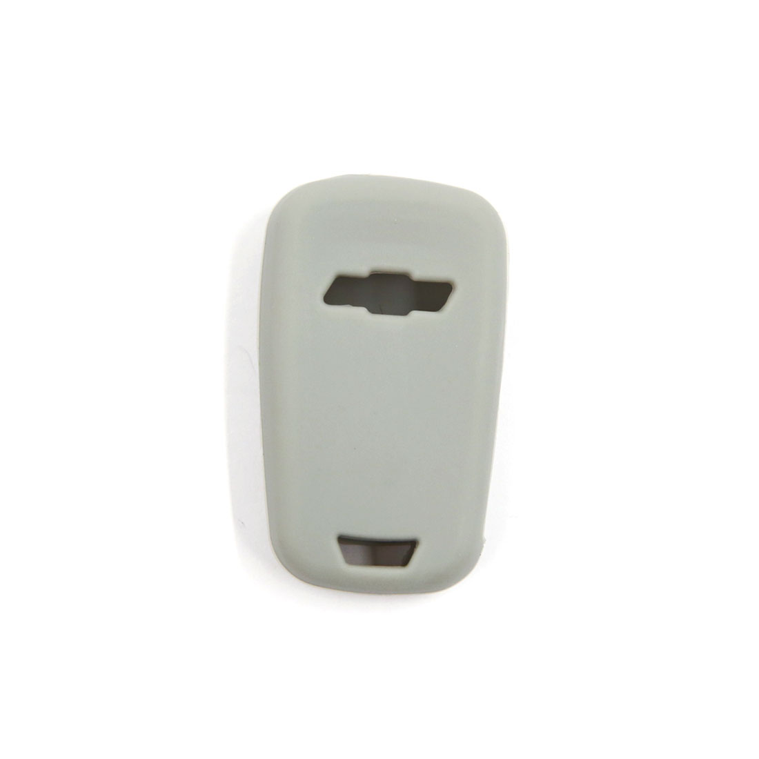 Unique Bargains Gray 3 Buttons Silicone Remote Key Case Cover Holder for Chevrolet Cruze Camaro - image 1 of 2