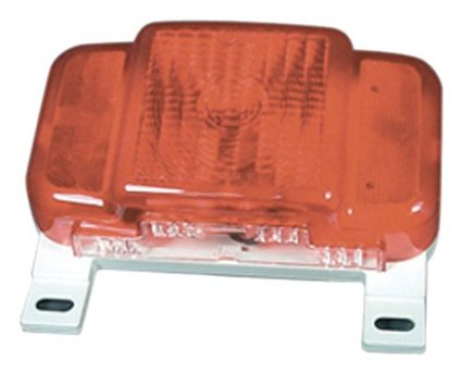 Peterson Mfg 457 Surface Mount Taillight Replacement Lens without License Light