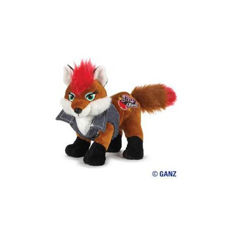 webkinz rockerz fox 8.5 plush
