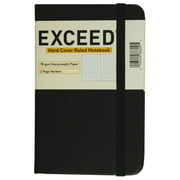 """Exceed Small Journal, Narrow Ruled, 96 Pages, 3.5"""" x 5.5"""", Black, 86600"""