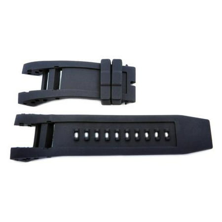 Generic Invicta Subaqua Collection Black 32.5mm Silicone Replacement Watch Strap ()