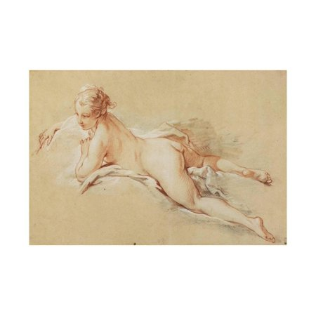 - Recumbent Nude Print Wall Art By Francois Boucher