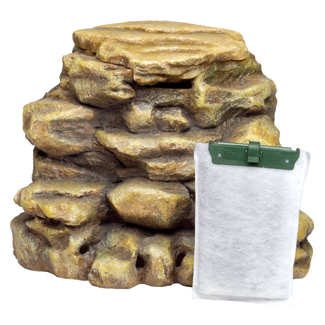 Tetra River Rock Decorative Reptile Filter Up to 55 Gallons
