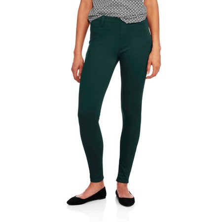 cfcbcbba2ffb6 Faded Glory - Faded Glory Women's Full Length Knit Color Jegging -  Walmart.com